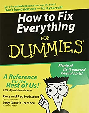 How to Fix Everything for Dummies 9780764572098