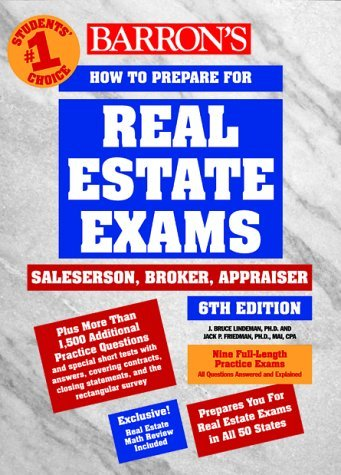 How to Prepare for Real Estate Exams: Salesperson, Broker, Appraiser 9780764107733
