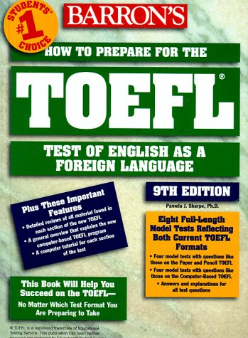 How to Prepare for TOEFL: Test of English as a Foreign Language 9780764103995