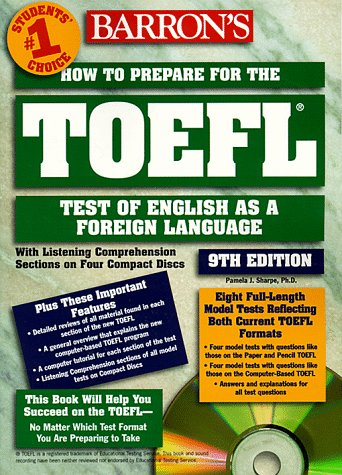 How to Prepare for TOEFL-Test of English as a Foreign Language [With *] 9780764172656