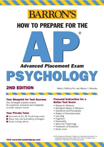 How to Prepare for the AP Psychology 9780764123498