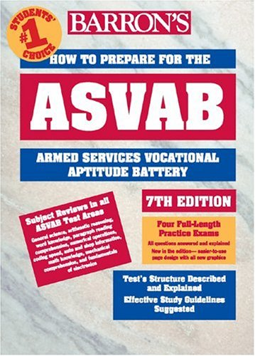 How to Prepare for the ASVAB 9780764120435