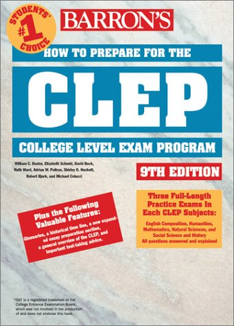 How to Prepare for the CLEP How to Prepare for the CLEP 9780764120275