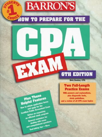 How to Prepare for the Certified Public Accountant Exam 9780764101854