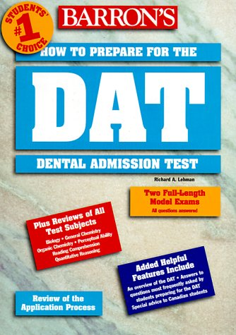 How to Prepare for the Dental Admissions Test 9780764105777