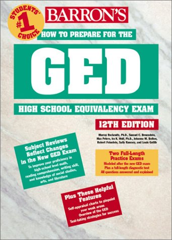 How to Prepare for the GED High School Equivalency Exam 9780764121203