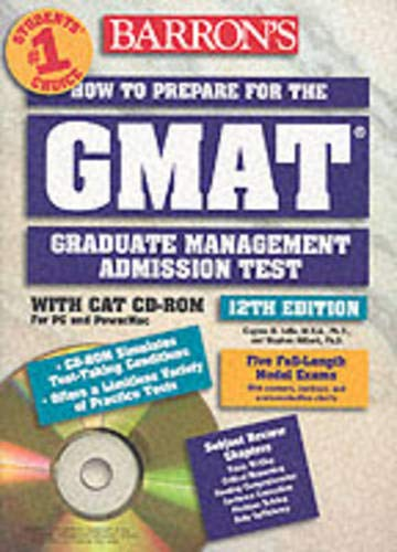 How to Prepare for the Graduate Management Admission Test W/CD-ROM [With CD-ROM] 9780764174599