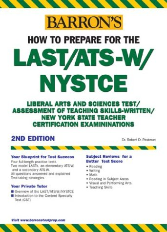 How to Prepare for the Last/Ats-W/Nystce 9780764123061