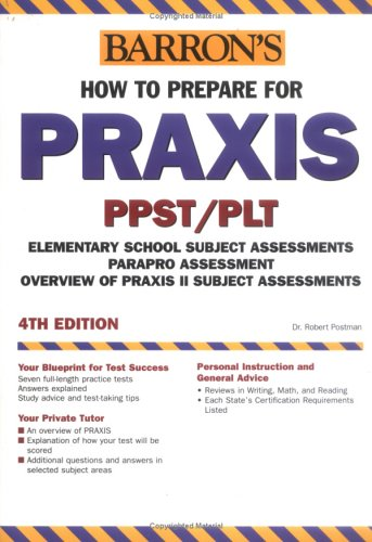 How to Prepare for the Praxis 9780764123900