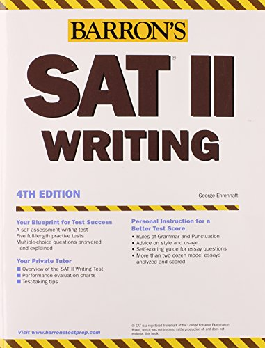How to Prepare for the SAT II Writing 9780764123467