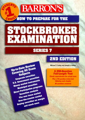 How to Prepare for the Stockbroker Exam How to Prepare for the Stockbroker Exam: Series 7 Series 7 9780764107665