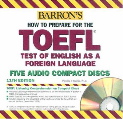 How to Prepare for the TOEFL (4 CDs Only) 9780764175770