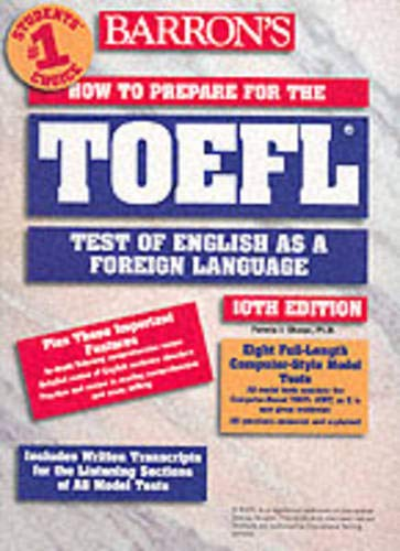 How to Prepare for the TOEFL 9780764117664