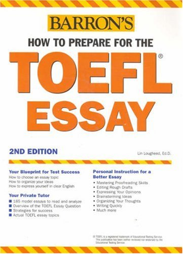 How to Prepare for the TOEFL Essay 9780764123139
