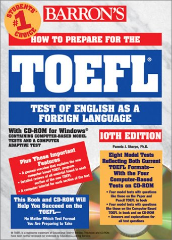 How to Prepare for the TOEFL Test: Test of English as a Foreign Language [With CDROM] 9780764175008