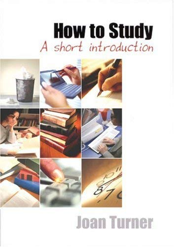 How to Study: A Short Introduction 9780761968078