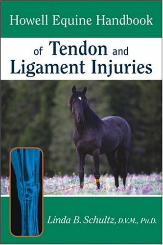 Howell Equine Handbook of Tendon and Ligament Injuries 9780764557156
