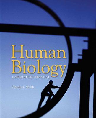 Human Biology Lab Manual 9780763738433