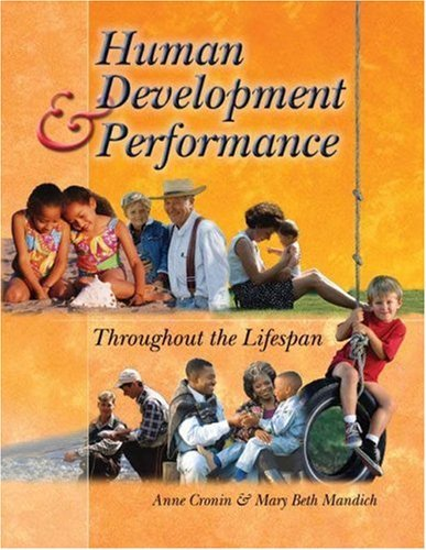 Human Development and Performance Throughout the Lifespan 9780766842601