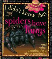 I Didn't Know: Spiders H Fangs 2884611