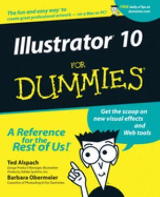 Illustrator 10 for Dummies 9780764536366