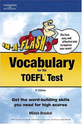 In-A-Flash: Vocabulary for TOEFL Exam 9780768908664