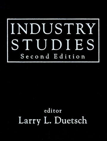 Industry Studies 9780765600684