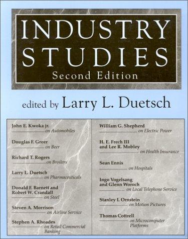 Industry Studies 9780765600691