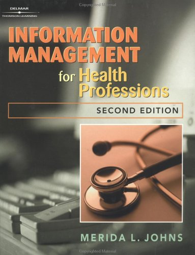 Information Management for Health Professions 9780766825161