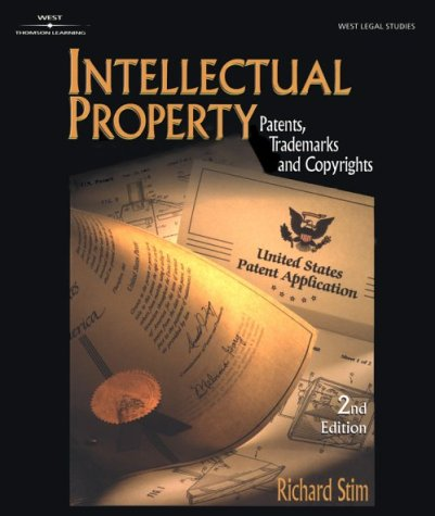 Intellectual Property: Patents, Trademarks, and Copyrights 9780766826656