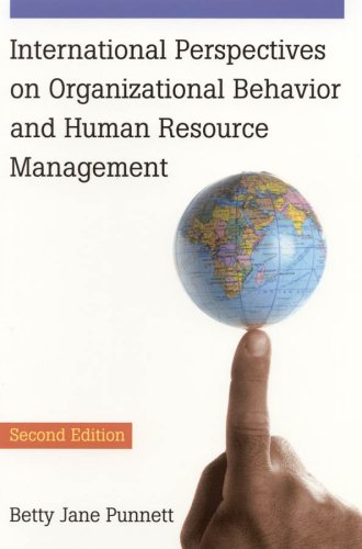 International Perspectives on Organizational Behavior and Human Resource Management 9780765621443