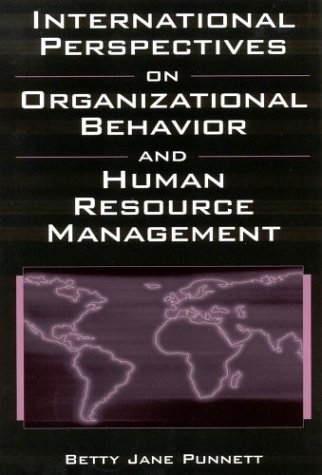 International Perspectives on Organizational Behavior and Human Resource Management 9780765610577