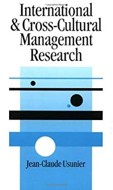 International and Cross-Cultural Management Research 9780761952817