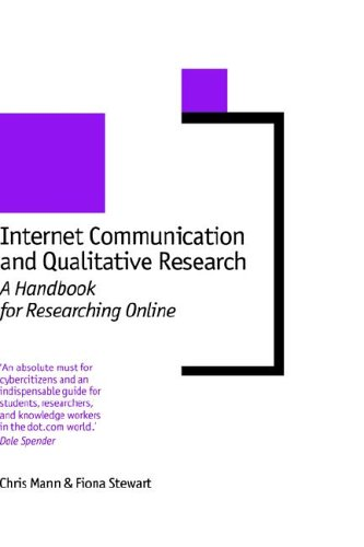 Internet Communication and Qualitative Research: A Handbook for Researching Online 9780761966265