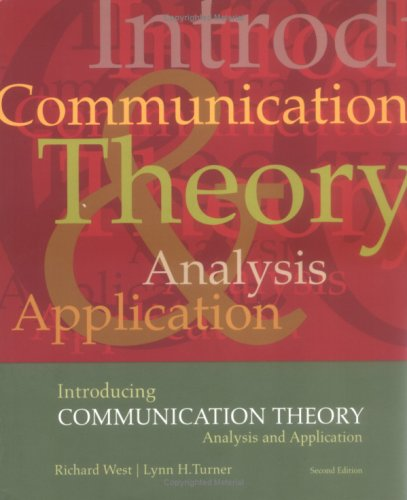 Introducing Communication Theory: Analysis and Application (NAI) 9780767430340