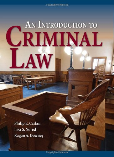 An Introduction to Criminal Law 9780763755256