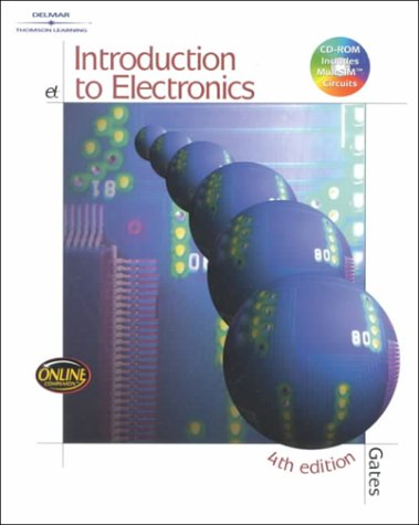Introduction to Electronics [With CDROM] 9780766816985