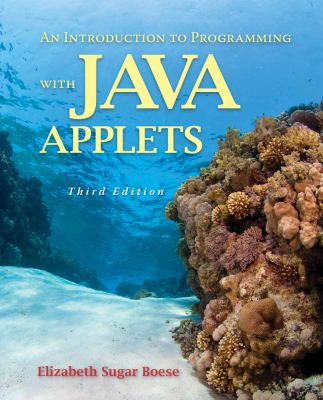 Introduction to Programming with Java Applets 9780763754600