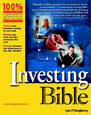 Investing Bible 9780764553806