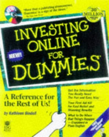 Investing Online for Dummies [With Includes Shareware & Freeware, Financial Analysis] 9780764503368