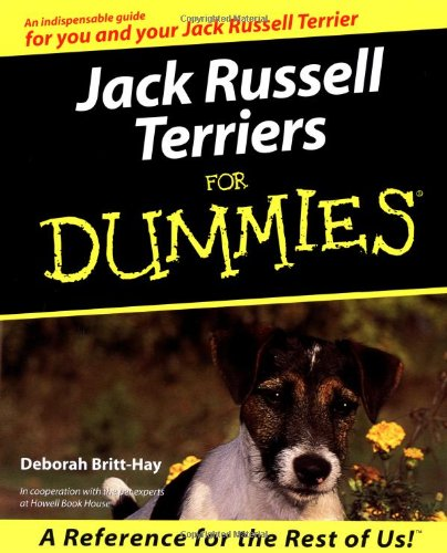 Jack Russell Terriers for Dummies 9780764552687