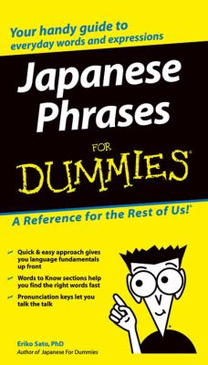 Japanese Phrases for Dummies 9780764572050
