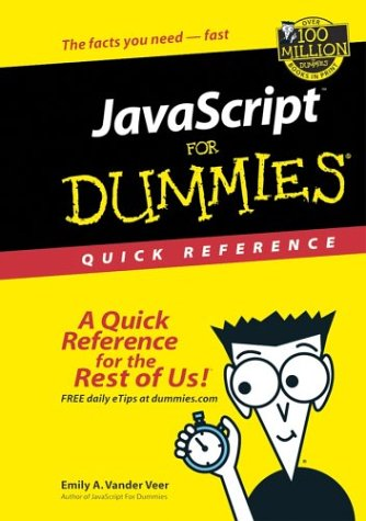JavaScript for Dummies Quick Reference 9780764501128