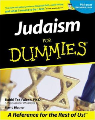 Judaism for Dummies 9780764552991