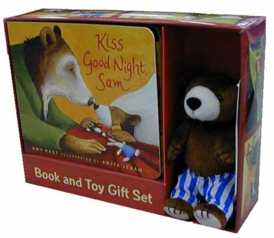 Kiss Good Night: Book and Toy Gift Set [With Plush Toy] 9780763625245