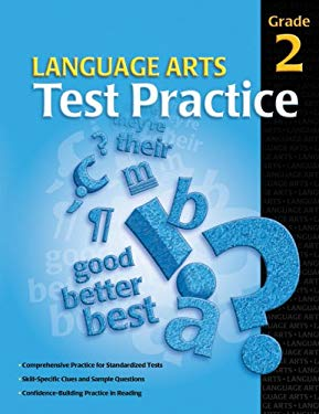 Language Arts Test Practice, Grade 2 9780769644721