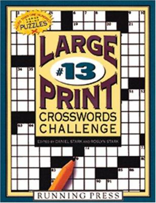 Large Print Crosswords Challenge 9780762409471