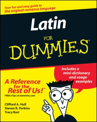 Latin for Dummies 9780764554315