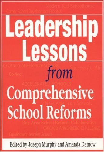 Leadership Lessons from Comprehensive School Reforms 9780761978466