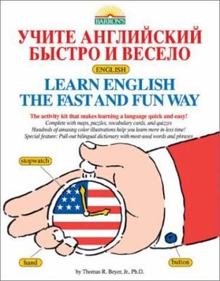 Learn English the Fast and Fun Way for Russian Speakers [With 4 Cassettes] 9780764173363